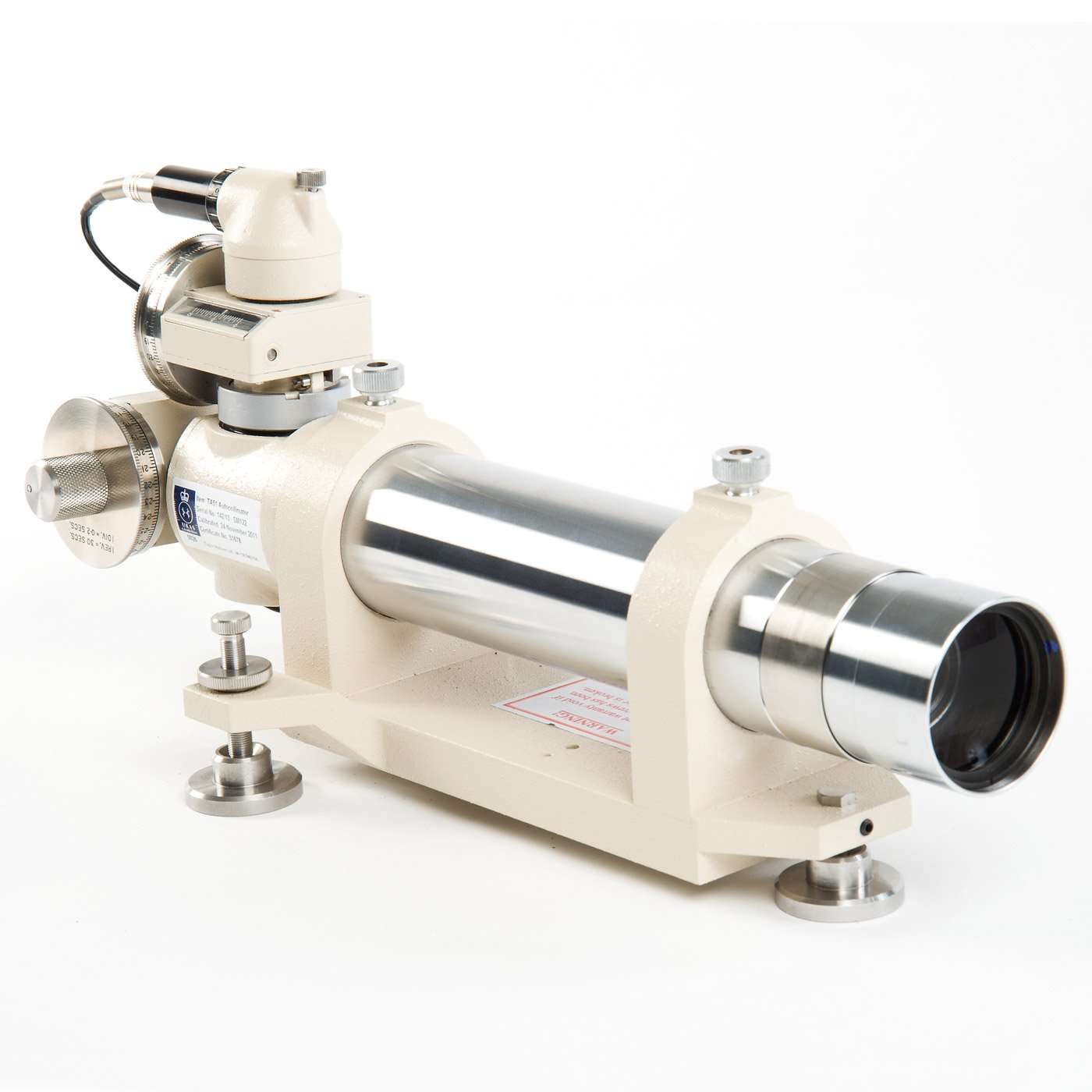 TA51 Visual Autocollimator for measurement and calibration of indexing heads