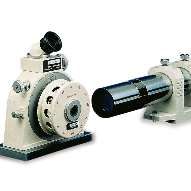 Fast simple set up, the visual display and dual axis micrometers instrument